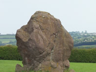 Neolithic standing stone from Ancient Ireland