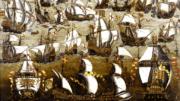 Arrival of Spanish Fleet at Smerwick