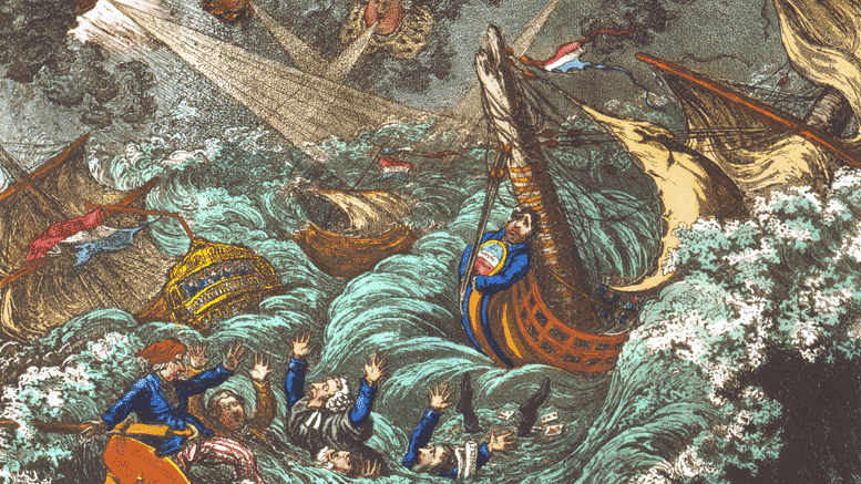 French Fleet Fail At Irish Invasion