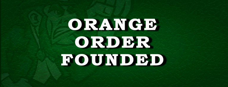 Orange Order is formed