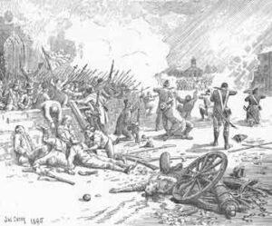 Battle of Antrim in 1798
