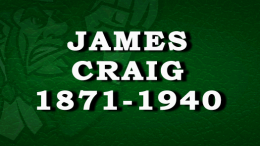 History of James Craig