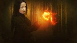 Carmen the evil witch