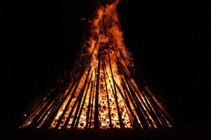 The great fire festival of Samhain