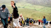 Pilgrimage on Croagh Patrick mountain