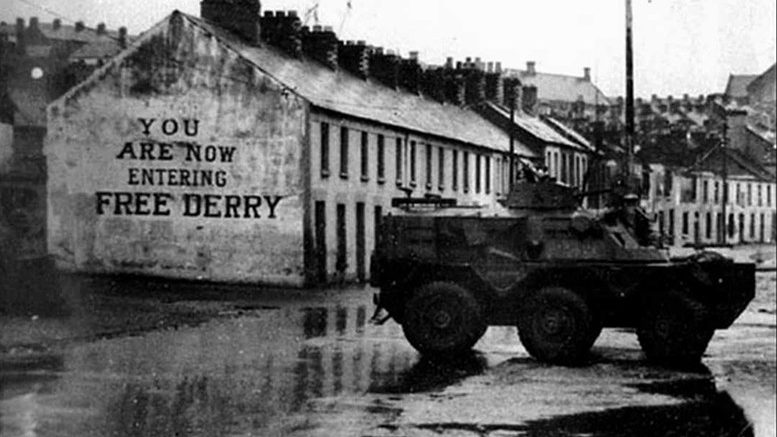 Operation Motorman at Free Derry