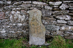 Stone cross at Cooley