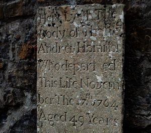 A head stone found in Donegal Friary